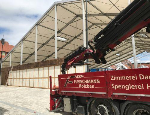Zeltbau Bierfest 2018 Kulmbach