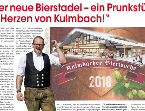 """""""Der neue Bierstadel – ein Prunkstück im Herzen von Kulmbach!"""""""