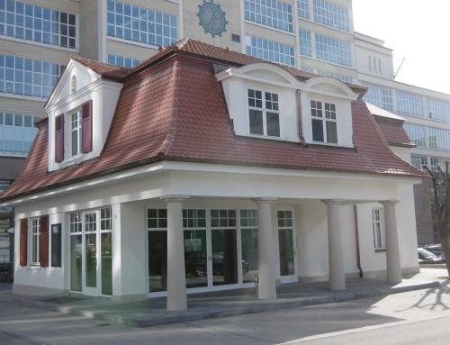 Sanierung Pförtnerhaus Alte Spinnerei