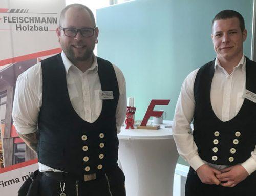 Fleischmann Holzbau auf der Abitura in Kulmbach